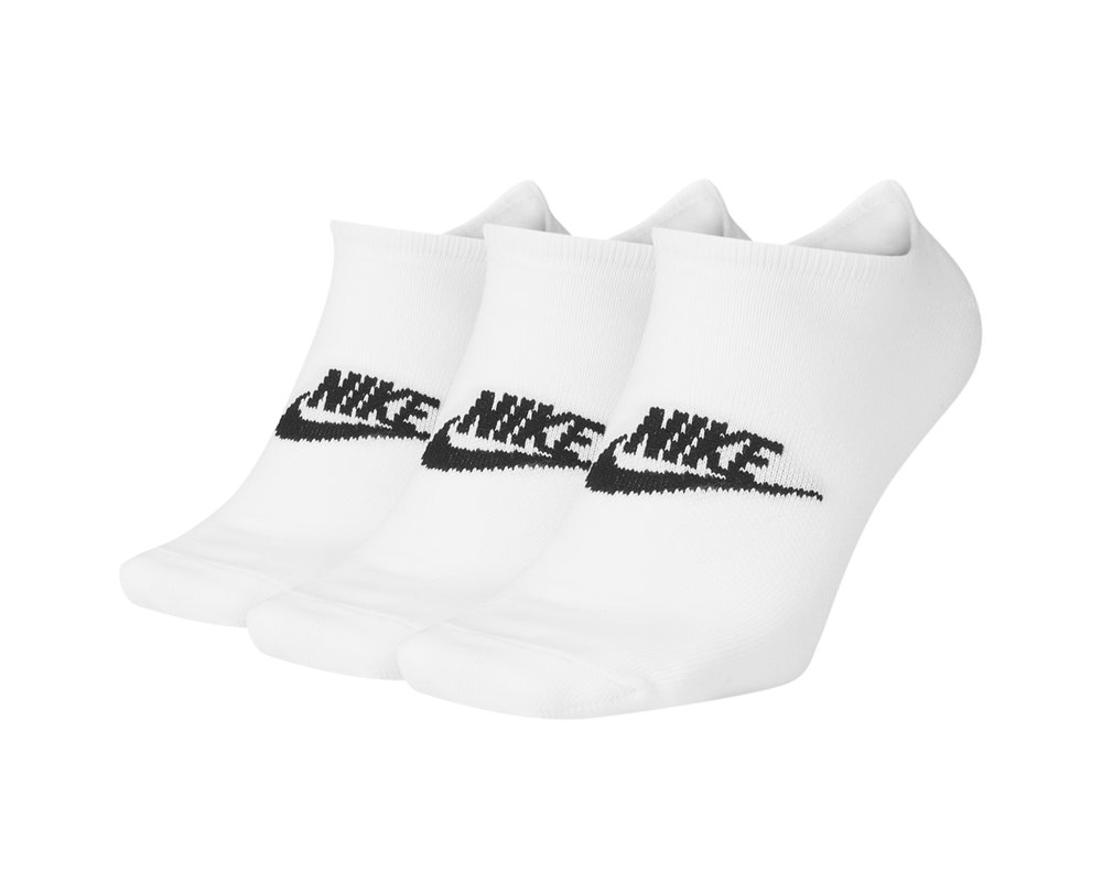 Nike Sportswear Everyday Essential No Show White Black SK0111 100