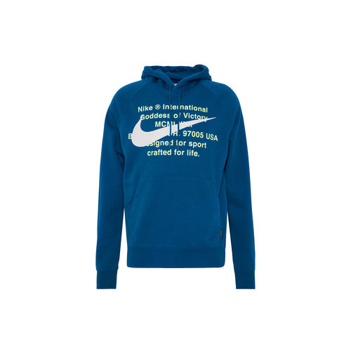 NSW Swoosh Hoodie Blue Force White CJ4863 499