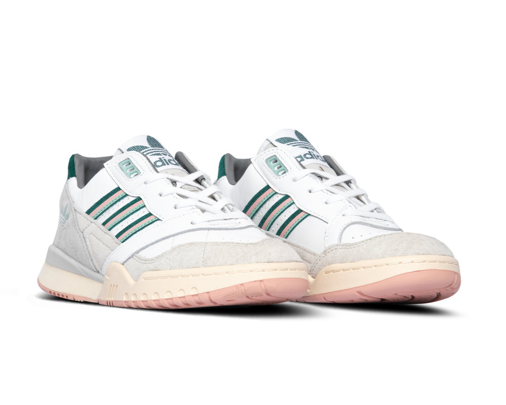 Adidas AR Trainer Cloud White Collegiate Green Vapour Pink EF5941