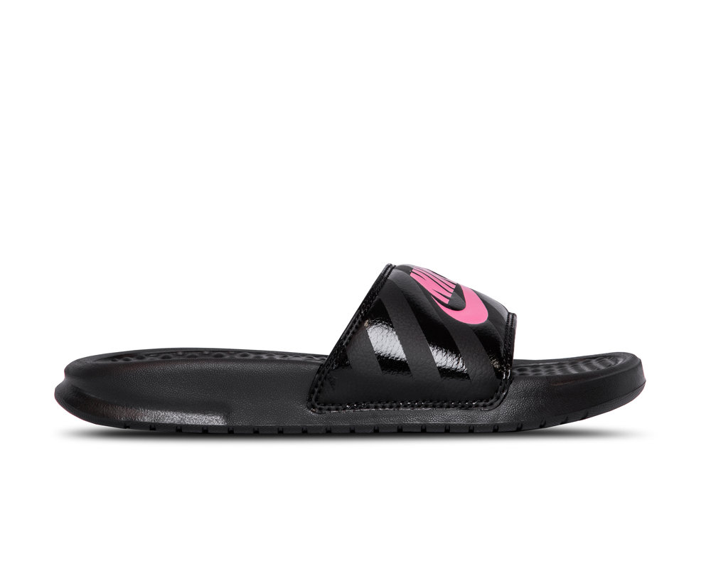 Nike Nike Benassi JDI Black Vivid Pink 343881 061 343881-061