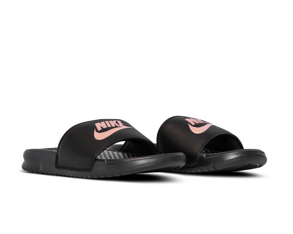 Nike Benassi JDI Black Rose Gold 343881 007