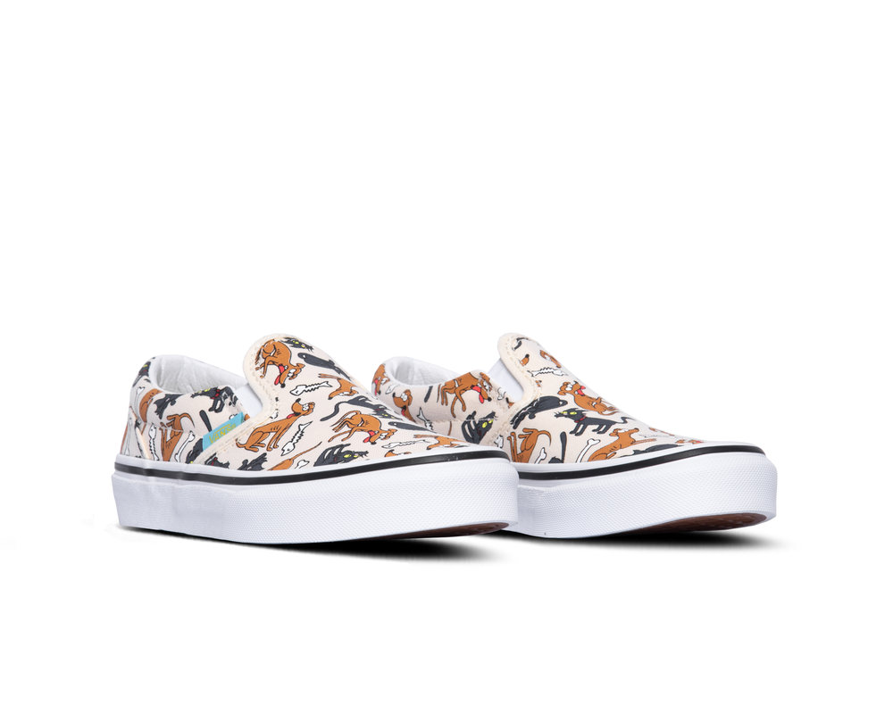 Vans UT Classic Slip On Vans X The Simpsons Family Pets VN0A4UH80JE1