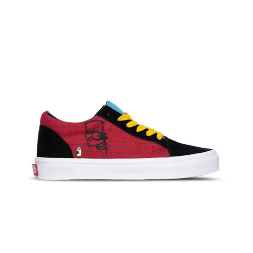 Old Skool Vans X The Simpsons El Barto  VN0A38JN17A1