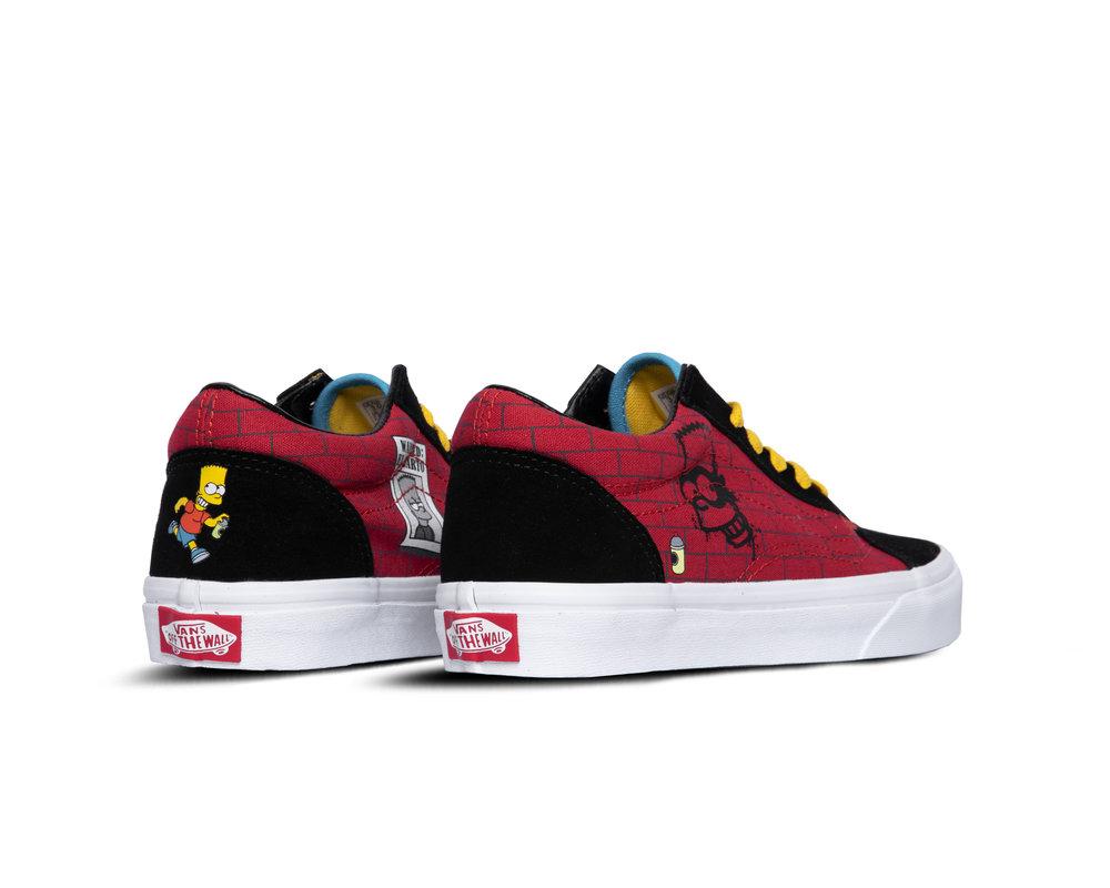 Vans Old Skool Vans X The Simpsons El Barto  VN0A38JN17A1