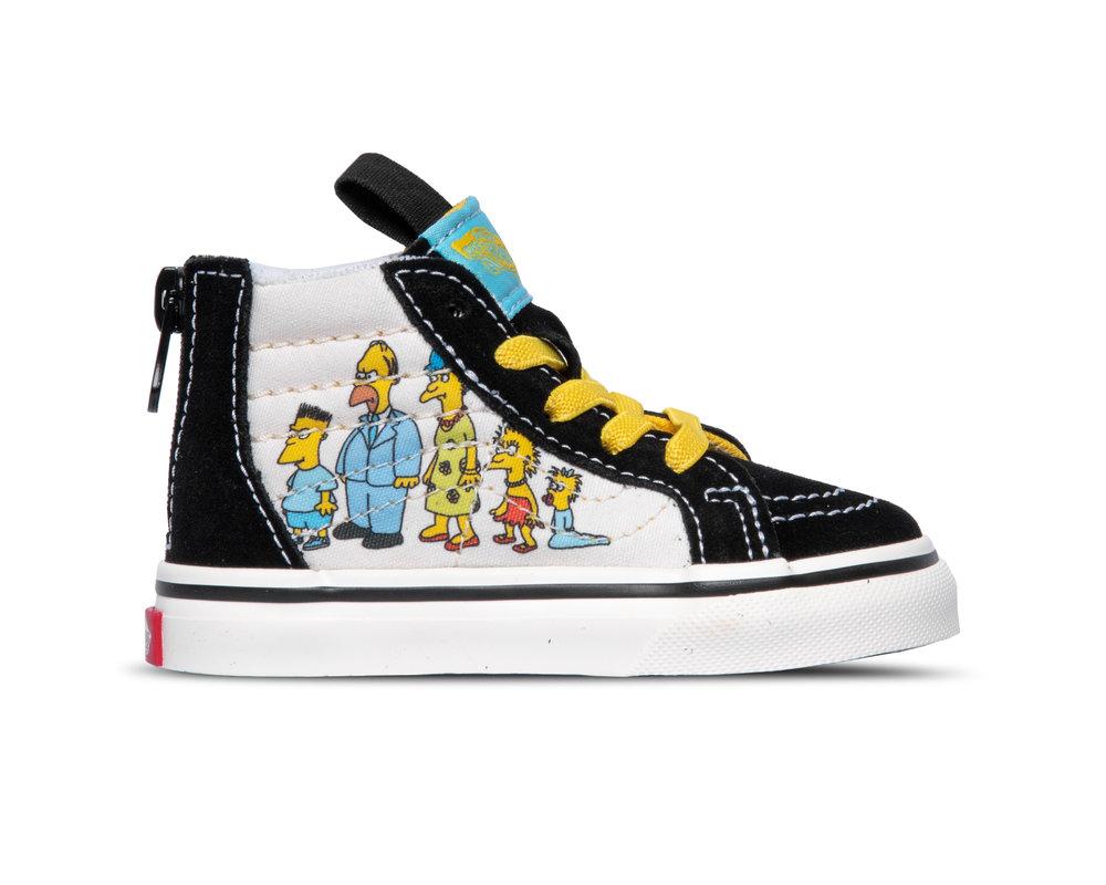 Vans TD SK8 Hi Zi p Vans X The Simpsons 1987 2020 VN0A4BV117E1