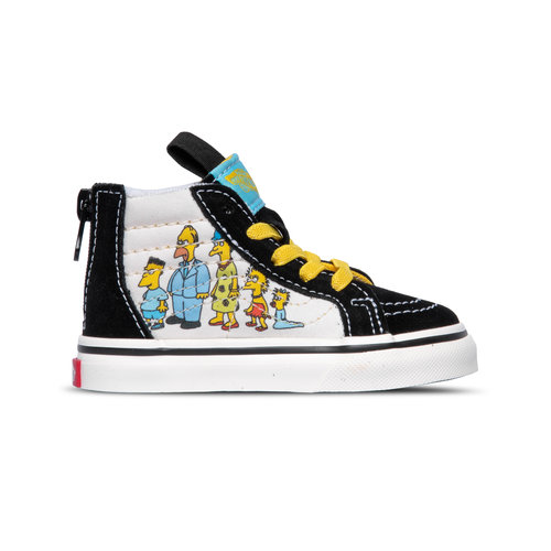 x The Simpsons Sk8 Hi Zip TD 1987-2020 VN0A4BV117E1