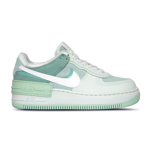 WMNS Air Force 1 Shadow Spruce Aura White Pistachio Frost CW2655 001