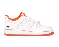 Nike Air Force 1 '07 LV8 Rucker Park  White Team Orange Black  CT2585 100