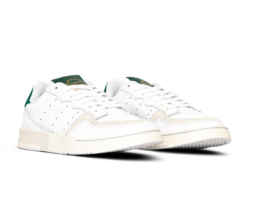 Adidas Supercourt  White Collegiate Green  EF5884