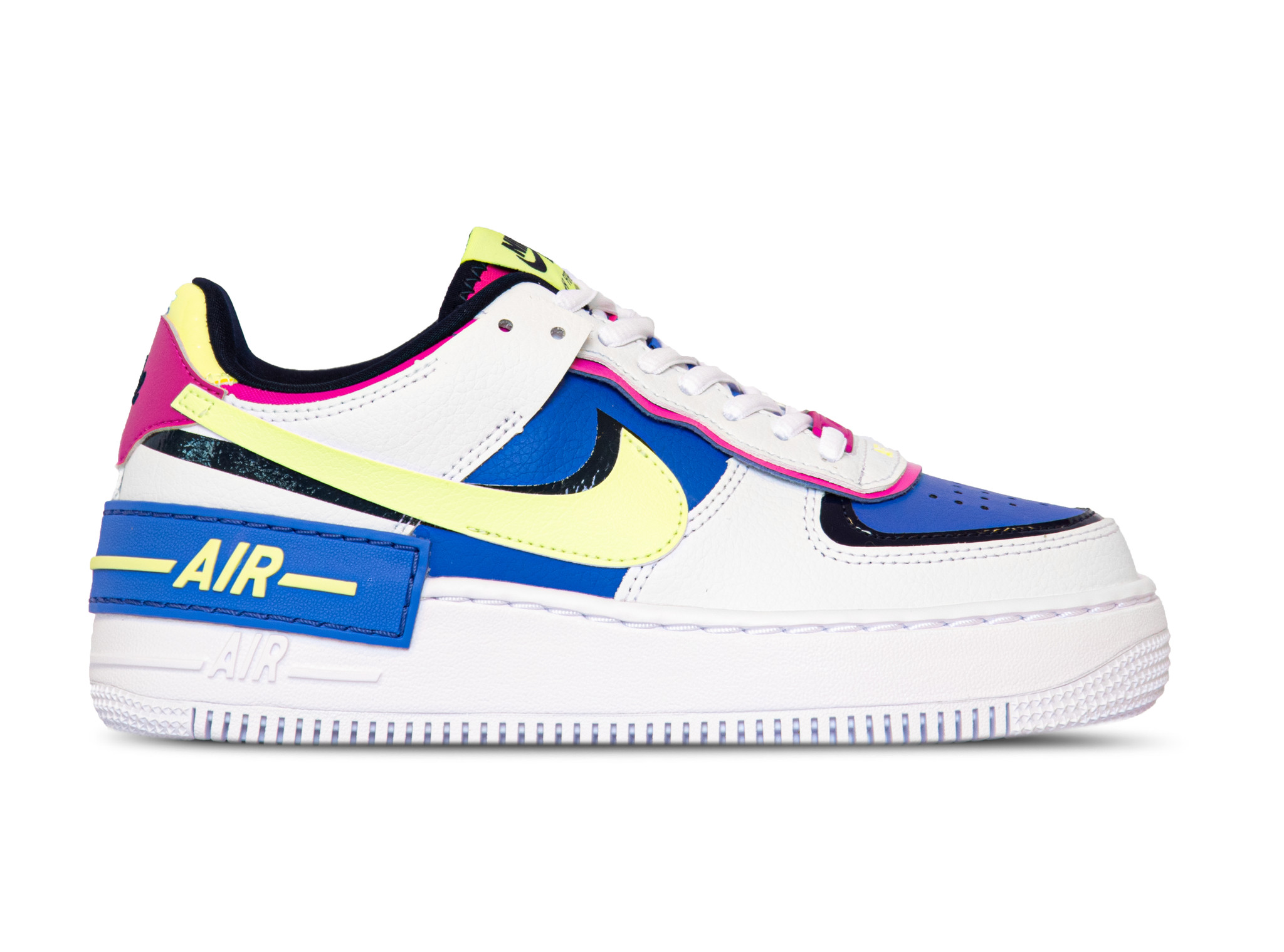 Air Force 1 Shadow White Barely Volt Sapphire Fire Pink Cj1641 100 Bruut Sneakers Clothing Store Released as a performance silo, nike were targeting. air force 1 shadow white barely volt sapphire fire pink cj1641 100