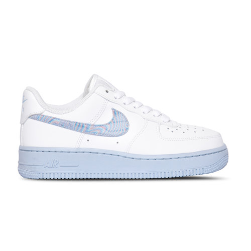 W Air Force 1 07  White Hydrogen Blue Laser Blue CZ0377 100