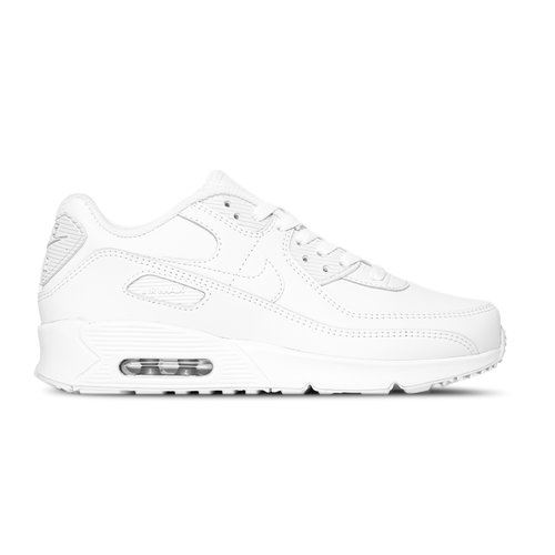 Air Max 90 GS LTR White White Metallic Silver White CD6864 100