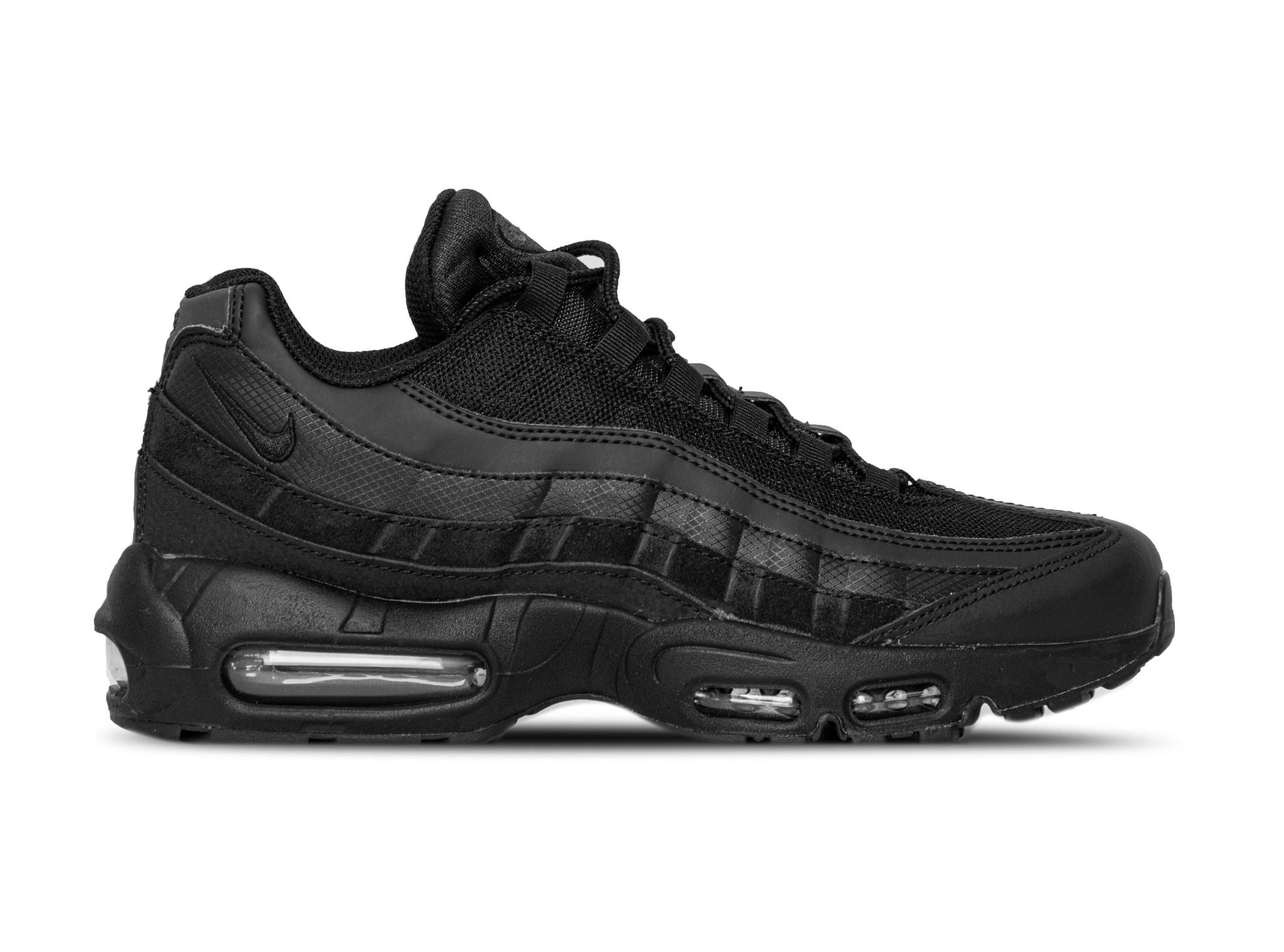 Nike Air Max 95 Essential Black Black Dark Grey CI3705 001 | Bruut Online shop