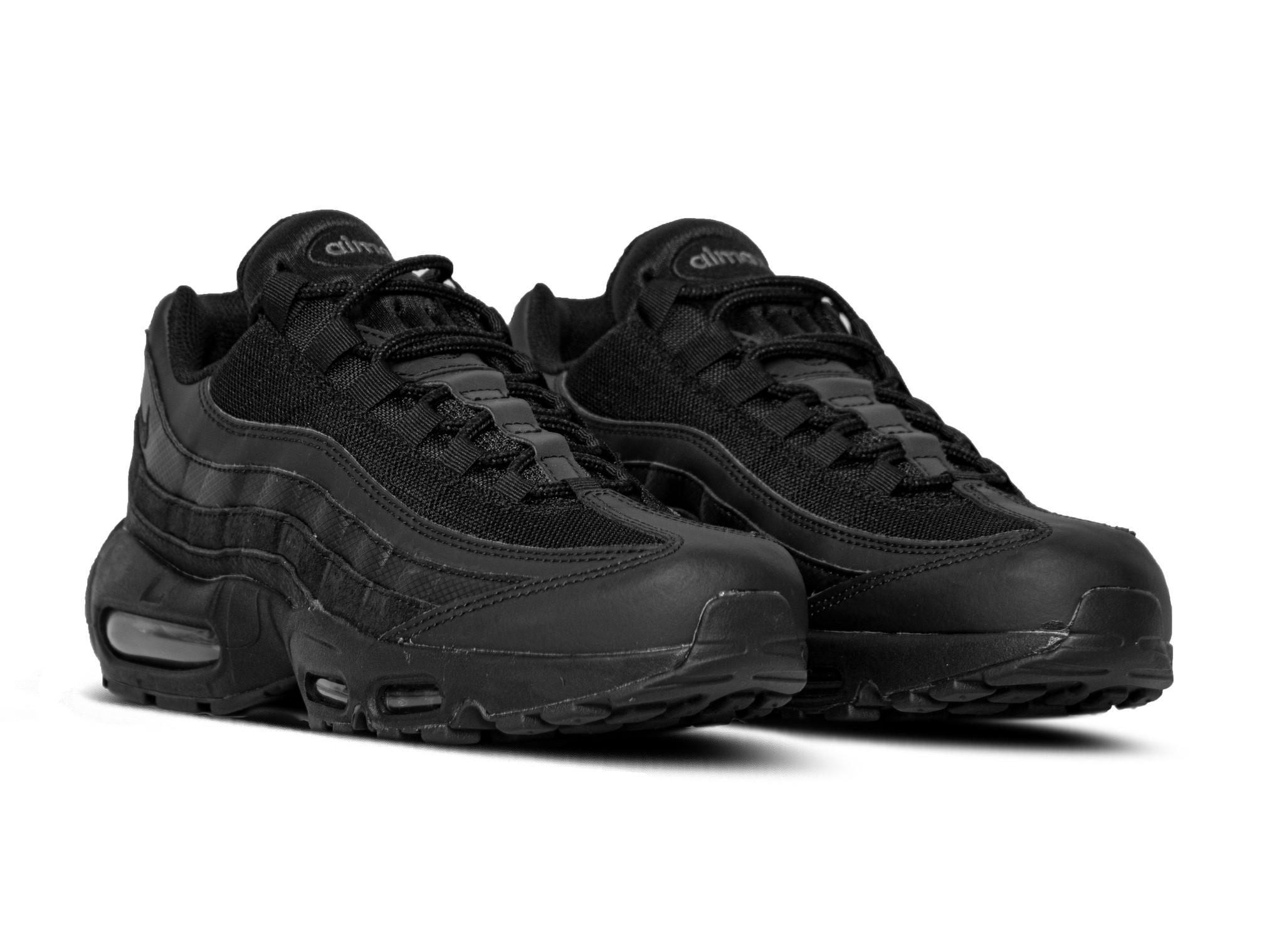 Nike Air Max 95 Essential Black Black Dark Grey CI3705 001