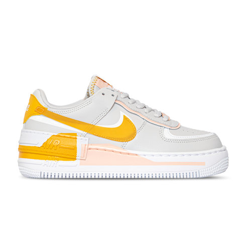 WMNS Air Force 1 Shadow SE Grey Pollen Washed Coral White CQ9503 001