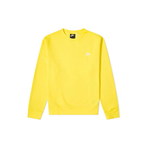 NSW Sportswear Club Crewneck Opti Yellow White BV2662 731