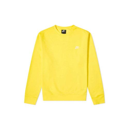 NSW Sportswear Club Crewneck Opti Yellow White BV2662 731