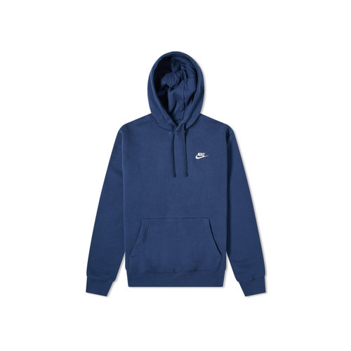 NSW Sportswear Club Fleece Hoodie Midnight Navy White BV2654 410