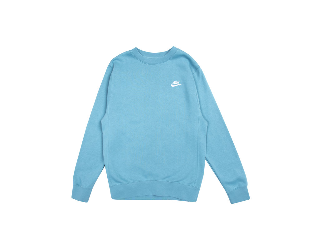 Nike NSW Club Crewneck Cerulean White BV2662 424
