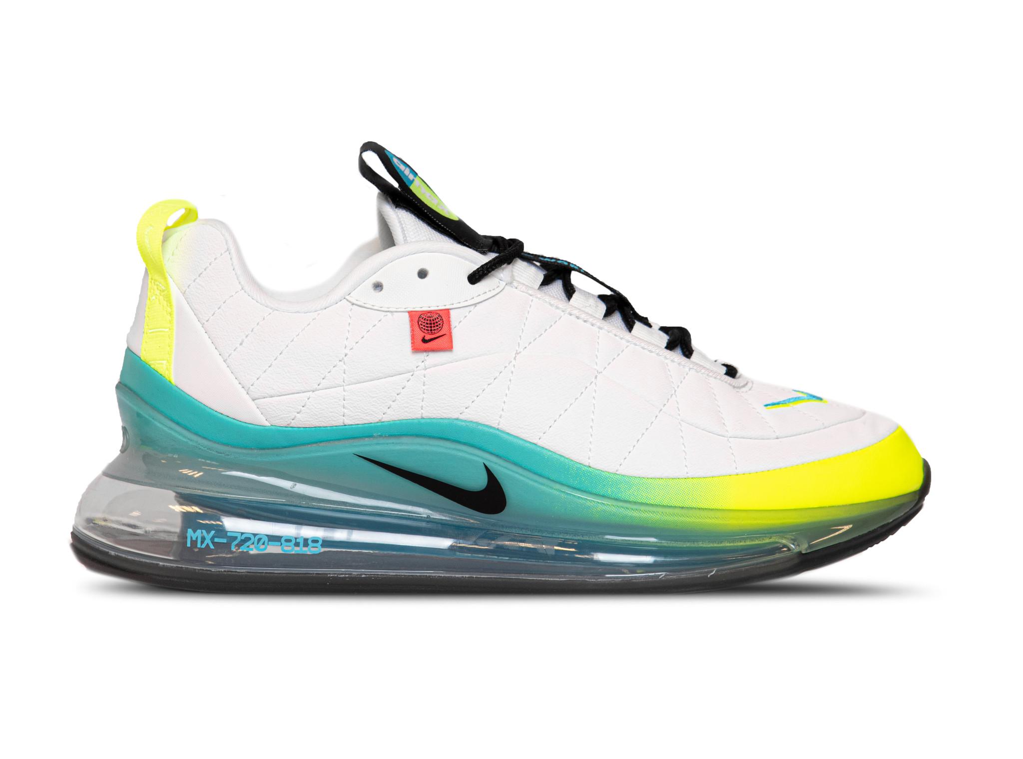 Nike MX 720 818 Worldwide White Black Blue Fury Volt CT1282 100