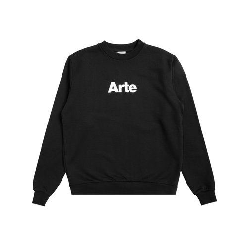 Chris Logo Crewneck Black AW20 007C