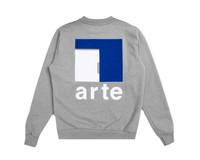 Arte Antwerp Chuck A Back Crewneck Grey AW20 045C