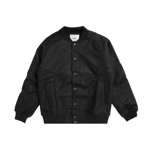 John A Team Jacket Black AW20 049J