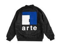 Arte Antwerp John A Team Jacket Black AW20 049J