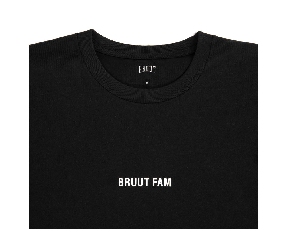 Bruut Grid Tee Pride Edition Black HFD115