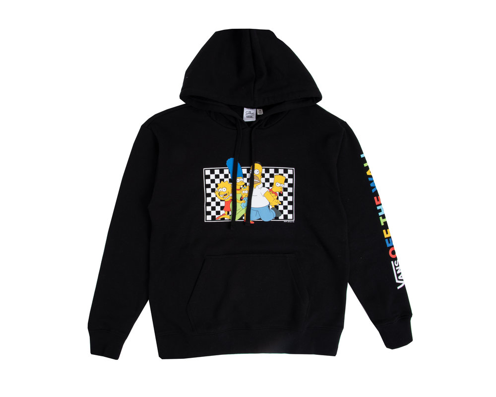 Vans x The Simpsons WM Hoodie Simpsons Family  VN0A4V48ZZZ
