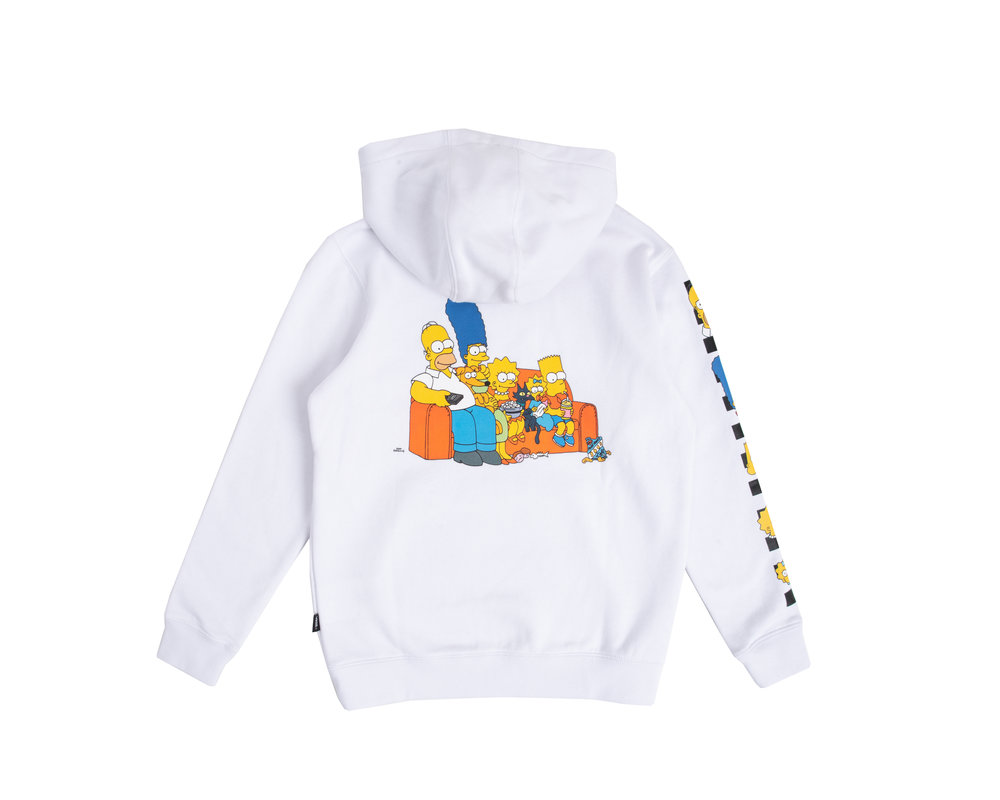 Vans x The Simpsons Hoodie Simpsons Family  VN0A4RTPZZZ1