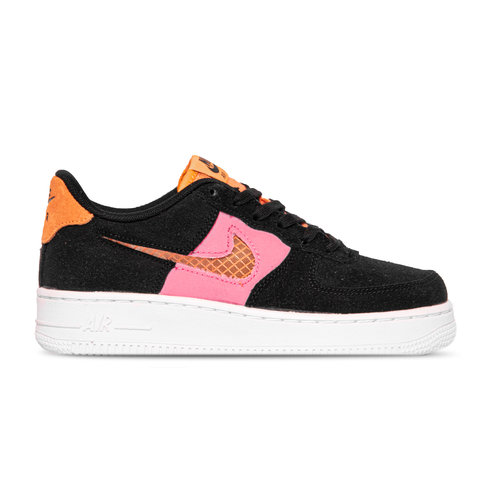 Air Force 1 GS LV8 Black Orange Trance Lotus Pink White CJ4093 002