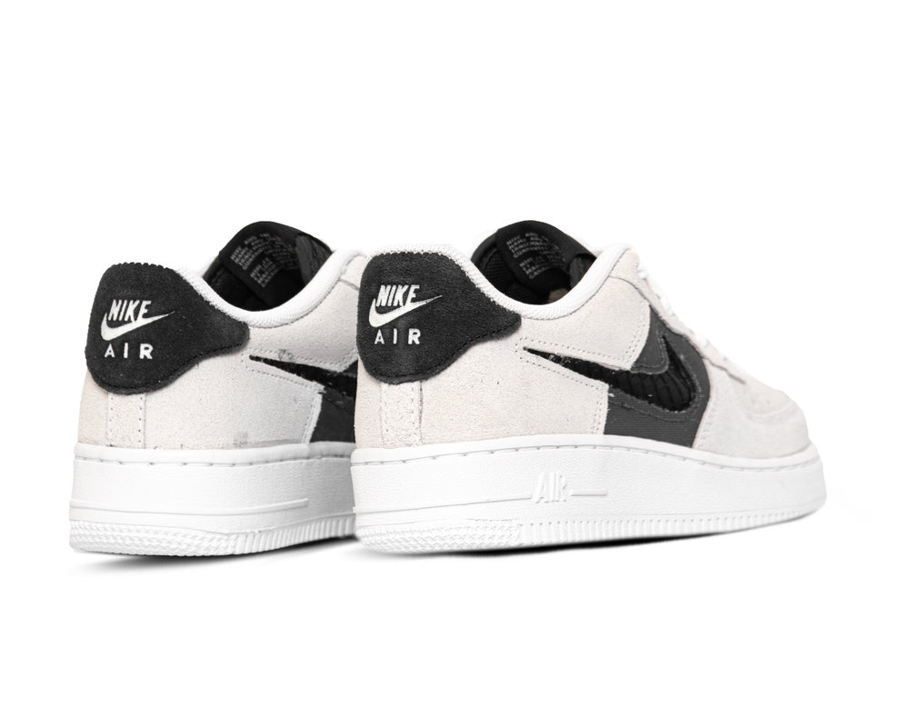 Nike Air Force 1 GS LV8 White Off Noir Iron Grey CJ4093 100