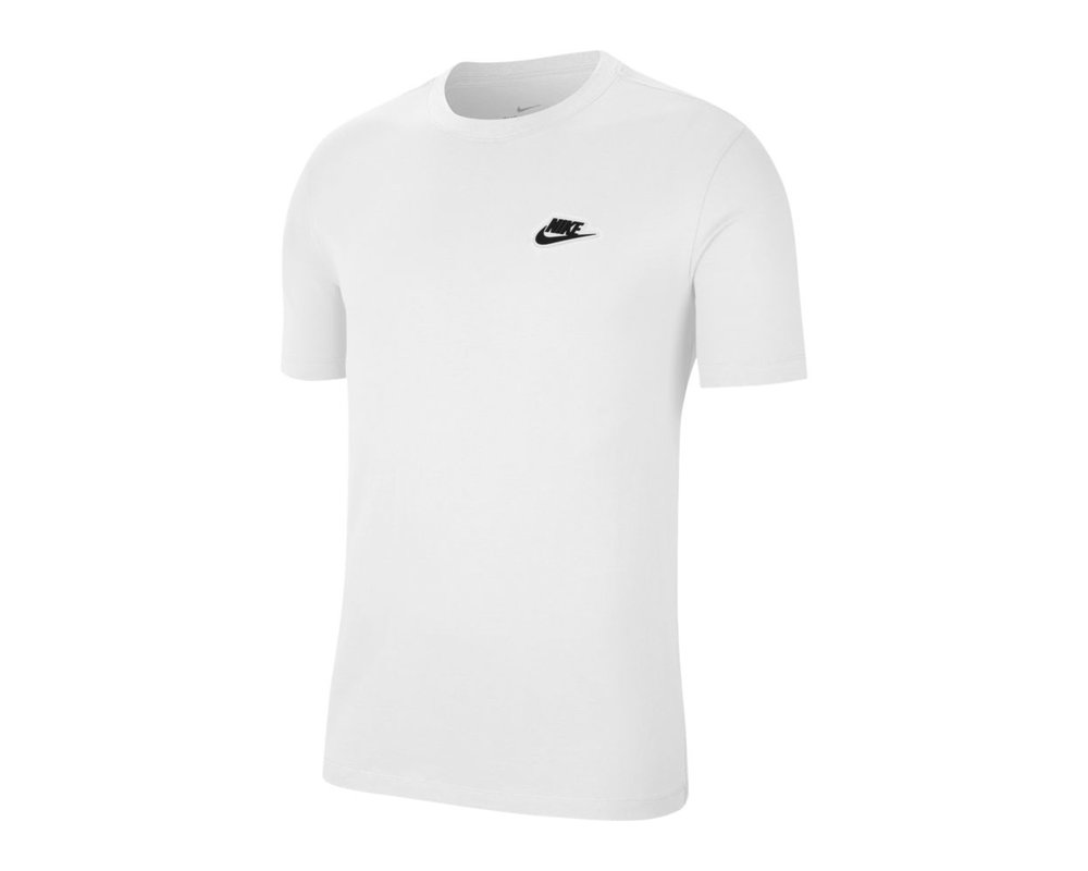 Nike NSW Tee White Black CU8916 100