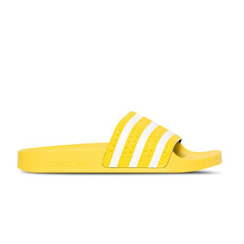 Adilette W Yellow White EG5007