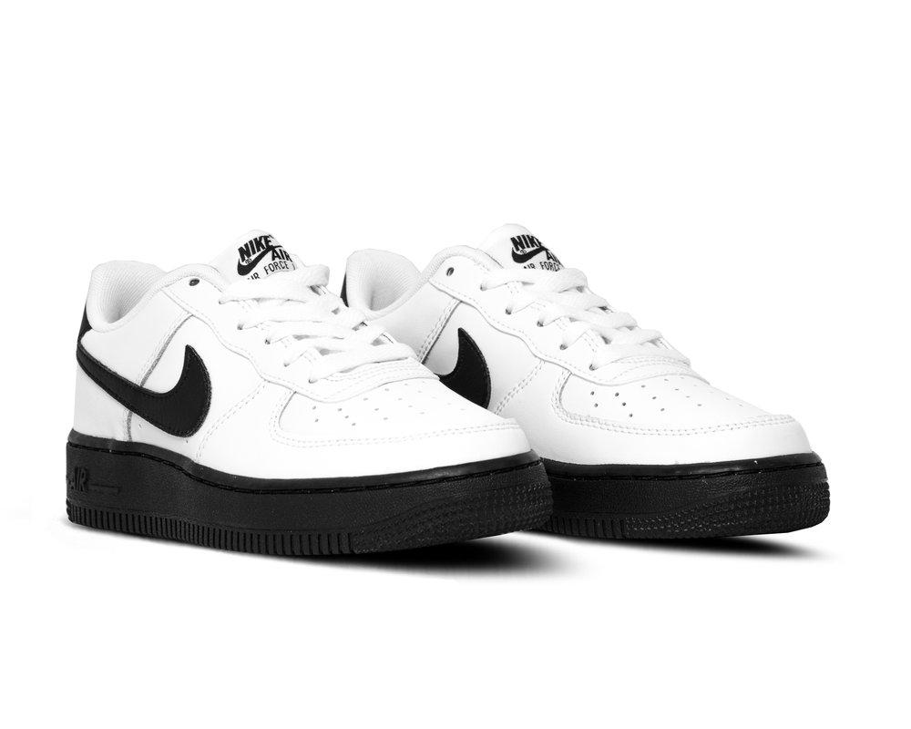 Nike Air Force 1 GS White Black CV7663 101