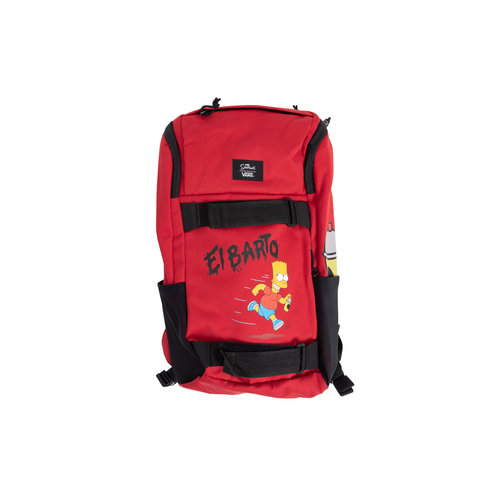 x The Simpsons Obstacle Skatepack Backpack  VN0A3I6917A1