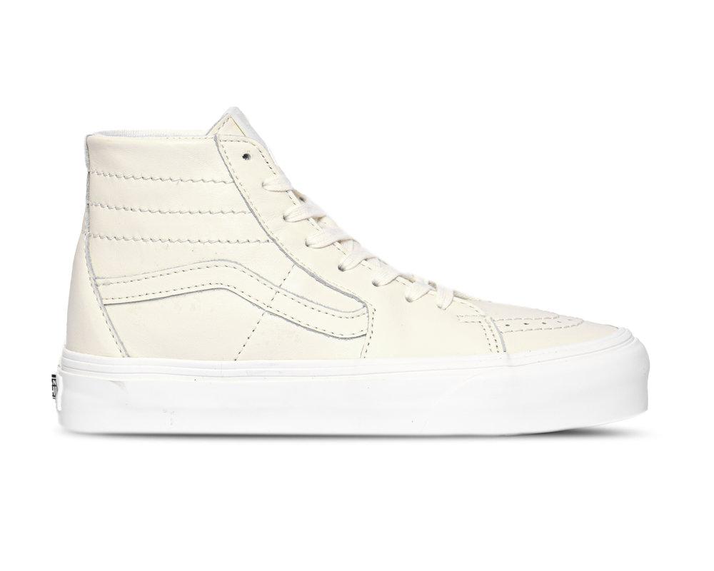 Vans SK8 Hi Tapered Soft Leather White VN0A4U1624H1