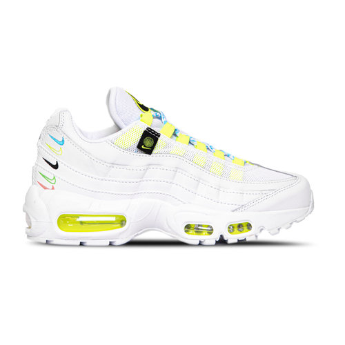 W Air Max 95 SE White Volt Blue Fury CV9030 100