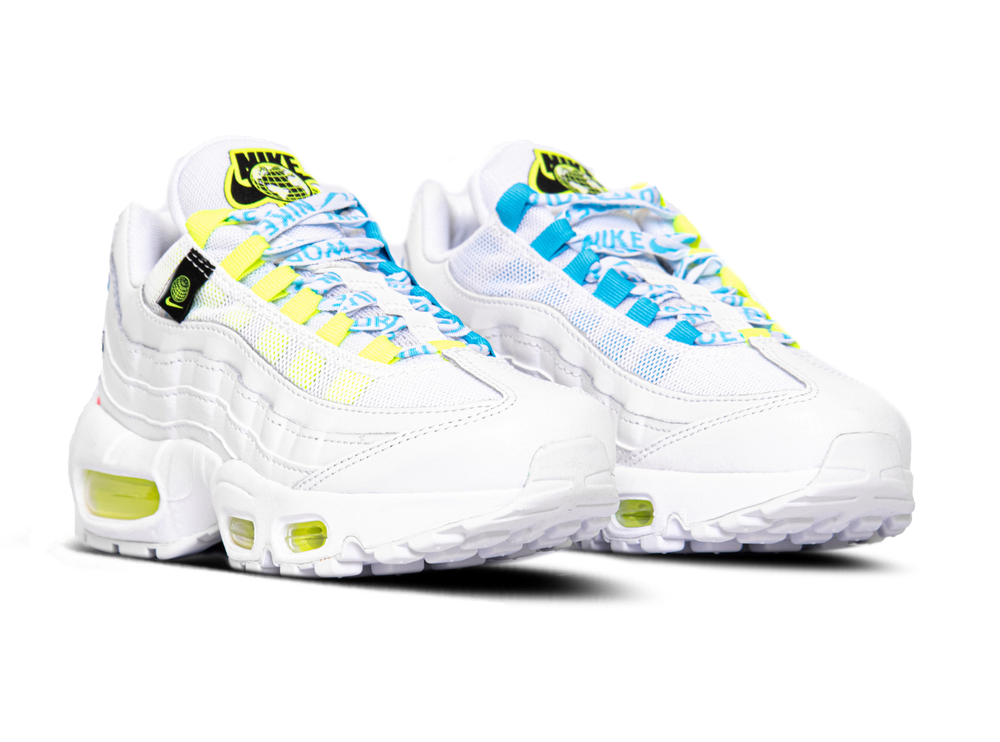 hotel Investigación En otras palabras  Nike W Air Max 95 SE White Volt Blue Fury CV9030 100 - Bruut Sneakers &  Clothing Store