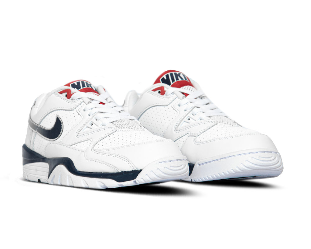 Nike Air Cross Trainer 3 Low White Midnight Navy CN0924 100
