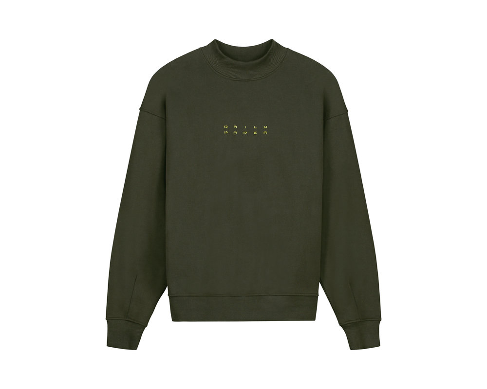 Daily Paper Jimfor Sweater Forest Green 2021045 3