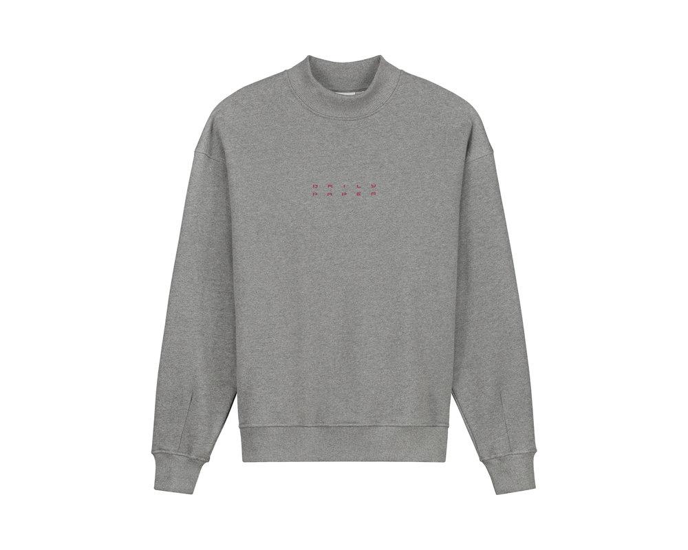 Daily Paper Jimmel Sweater Grey Melange 2021046 23