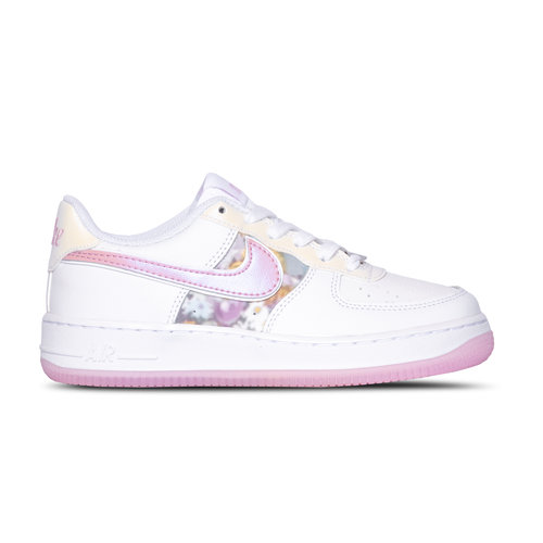 Air Force 1 GS White LT Arctic Pink Metallic Silver CN8535 100
