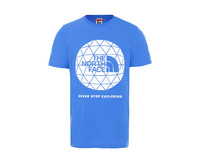 The North Face Geodome Tee Clear Lake Blue NF0A4M7YW8G1