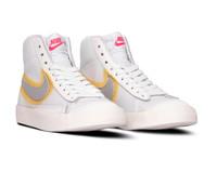 Nike W Blazer Mid Vintage '77 White Metallic Silver University Gold CZ8105 100