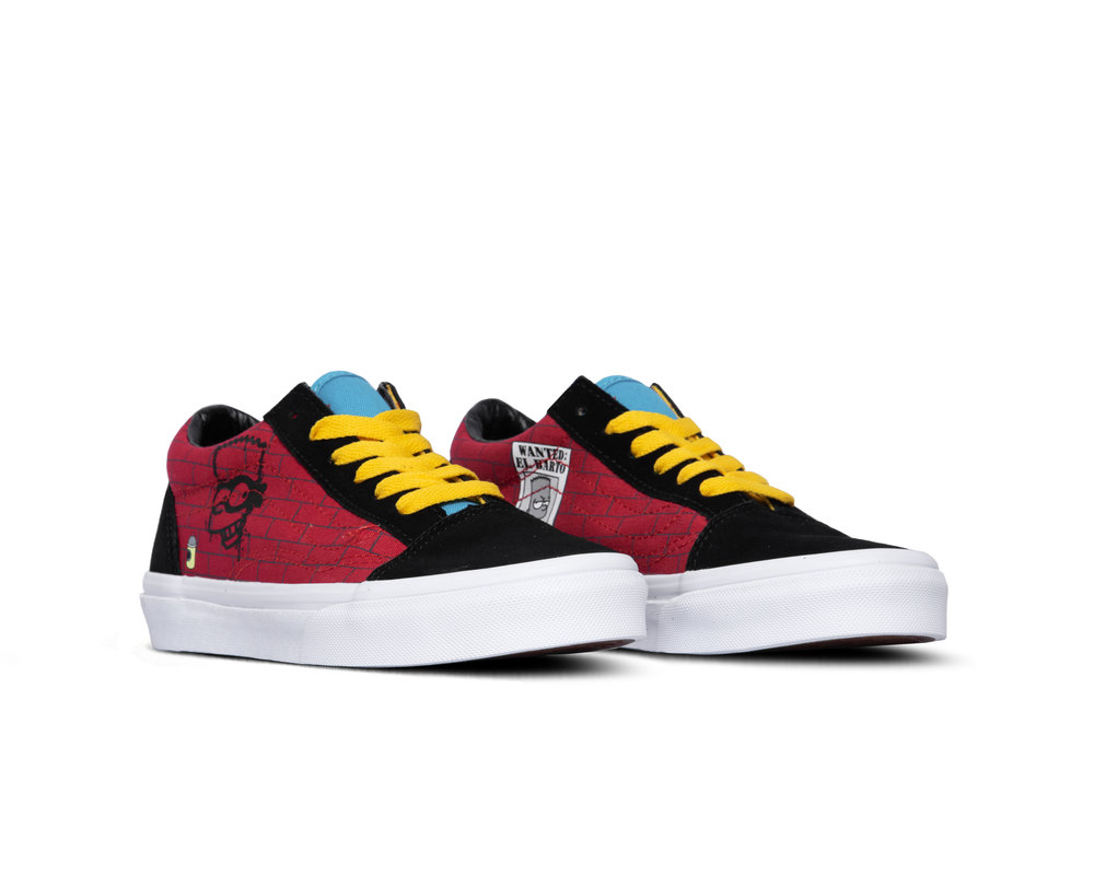 Vans x The Simpsons Old Skool YK El Barto VN0A4BUU17A1