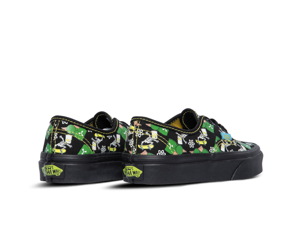 Vans x The Simpsons Authentic YK Glow Bart VN0A3UIV0GY1