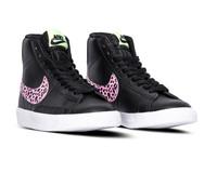 Nike Blazer Mid GS Black Pink Barely Volt DA4674 001