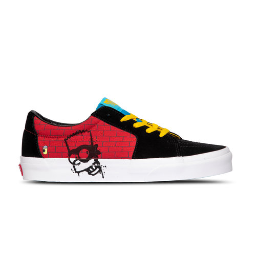 x The Simpsons SK8 Low El Barto VN0A4UUK17A1